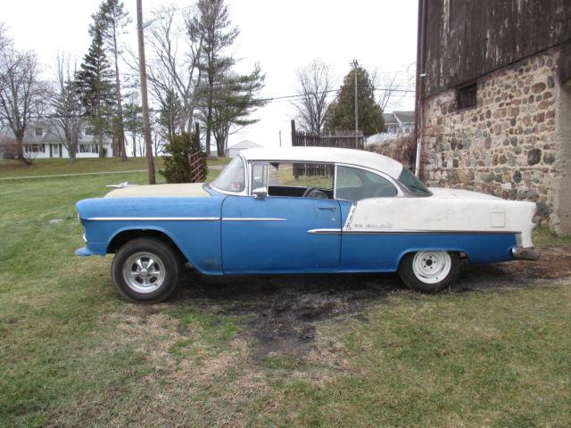 1955 chevy belair 2 door hardtop barn find project for for 1955 chevy belair 2 door hardtop for sale
