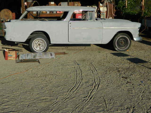 1955 Chevrolet Nomad Unrestored Project Car For Sale: 1955 Chevy BelAir Nomad Project Car Excellent Restoration