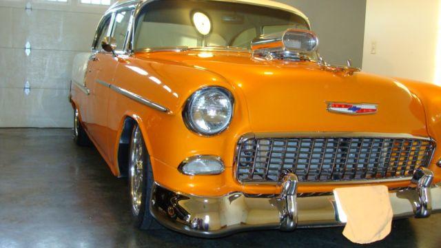 1955 Chevy Belair Resto Mod For Sale Photos Technical