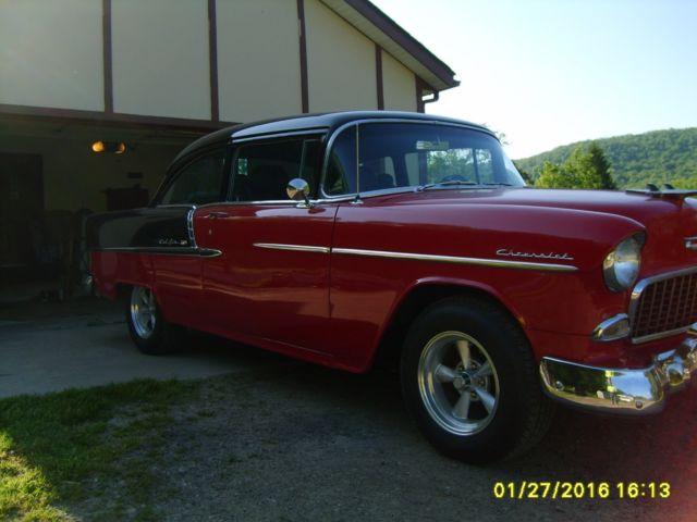 1955 chevy belair 210 2 door sedan 4 speed standard for for 1955 chevy 4 door sedan