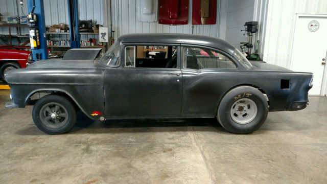 1955 Chevy Gasser Real Deal Old 60 S Drag Car For Sale