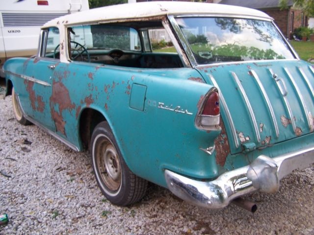 1955 Chevrolet Nomad Unrestored Project Car For Sale: 1955 Chevy Nomad Project Belair 1956 1957 For Sale: Photos