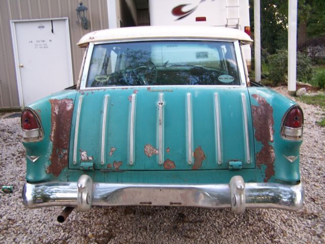 1955 chevy nomad project belair 1956 1957 for sale  photos  technical specifications  description