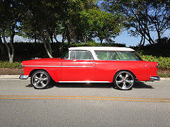 1955 Chevrolet Nomad Belair 2 Door Wagon