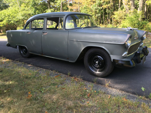 "1955 Chevrolet Bel Air/150/210 FACTORY NO OPTION CAR ""RARE"""