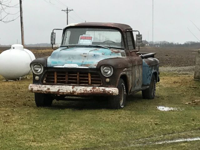 1955 Chevy Truck For Sale >> 1955 Chevy Truck 3200 For Sale Photos Technical