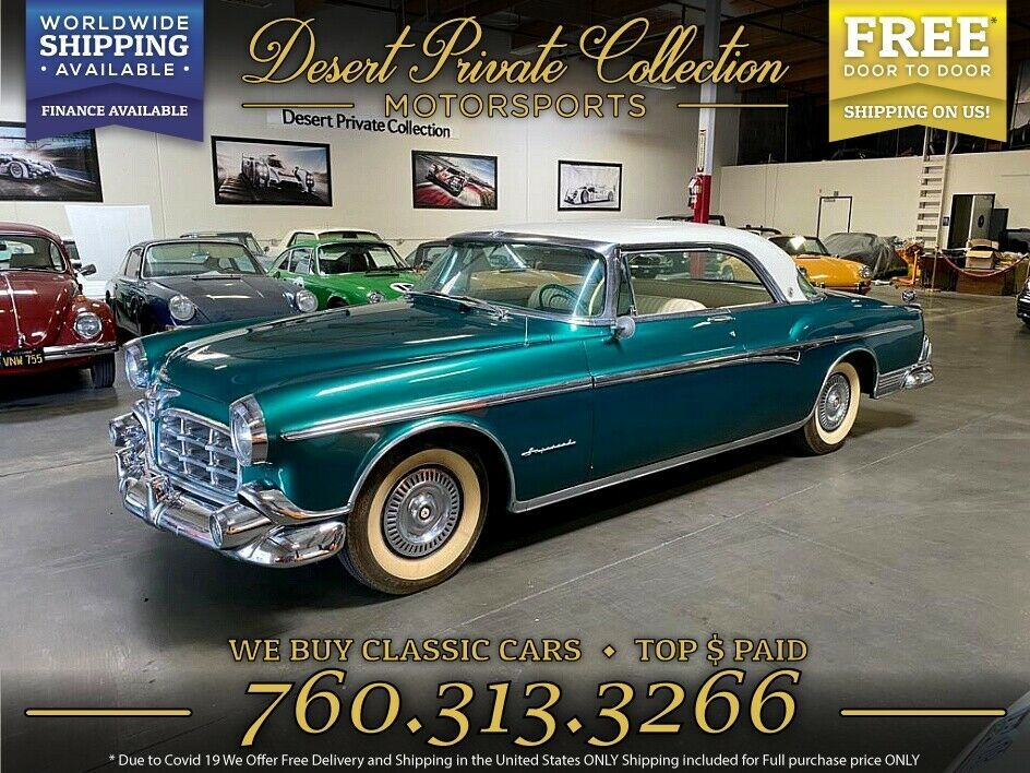 1955 Chrysler Newport Coupe Deluxe RESTORED