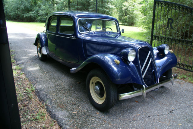 1955 Citroën TRACTION AVANT