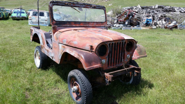 Jeep Cj Parts >> 1955 Cj5 Willys Jeep Project Parts For Sale Photos Technical