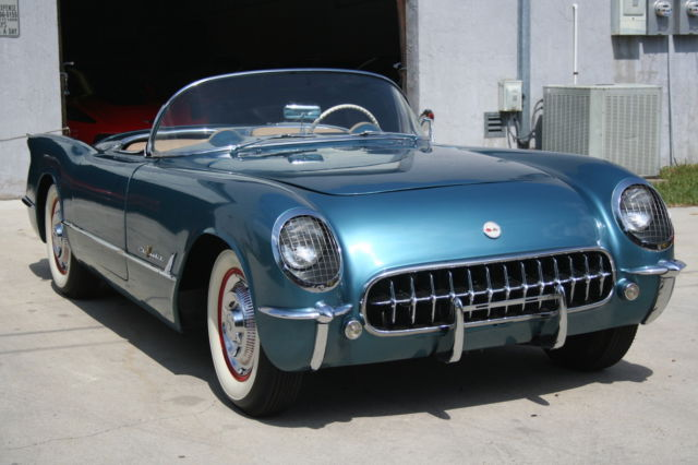 1955 Chevrolet Corvette Convetible #138 Of 700 Made