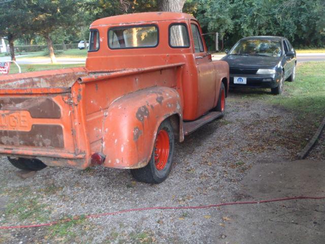 1955 Dodge 5 Window 1  2 Ton Pick Up Mopar Hemi 440 Gtx