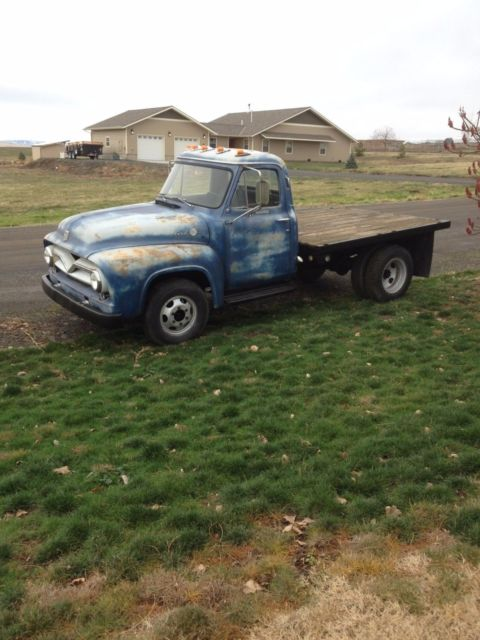 1955 F350 dually pickup truck patina 1953 1954 1956 barn find