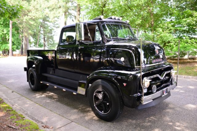 Ford F100 For Sale Craigslist >> 1955 FORD C-600 COE, CREWCAB, 7.3 DIESEL, ALLISON TRANS, LEATHER INTERIOR, LED'S for sale ...