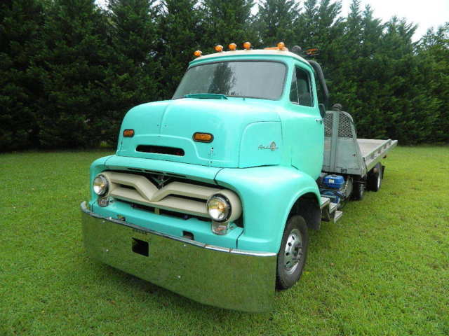 1955 Ford Other Pickups COE ROLLBACK CAB OVER C600