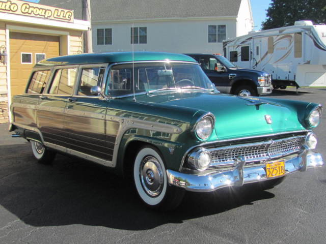 1955 ford country squire base wagon 4 door 4 8l for sale for 1955 ford 2 door wagon