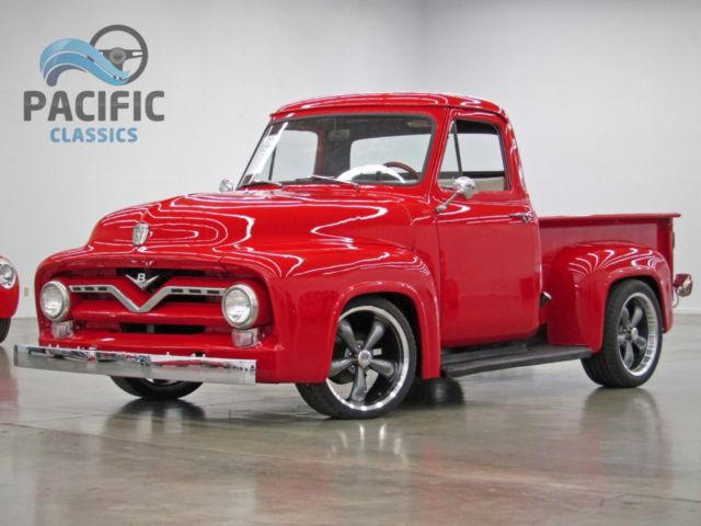 1955 ford f 100 351 windsor v8 fmx automatic 9 inch rear end very clean for sale photos. Black Bedroom Furniture Sets. Home Design Ideas