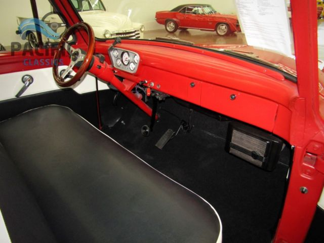 1955 Ford F 100 351 Windsor V8 Fmx Automatic 9 Inch Rear End Very Clean For Sale Photos