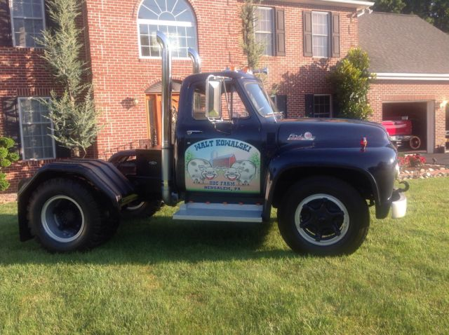 1955 Ford F 800 Truck Tractor For Sale Photos Technical
