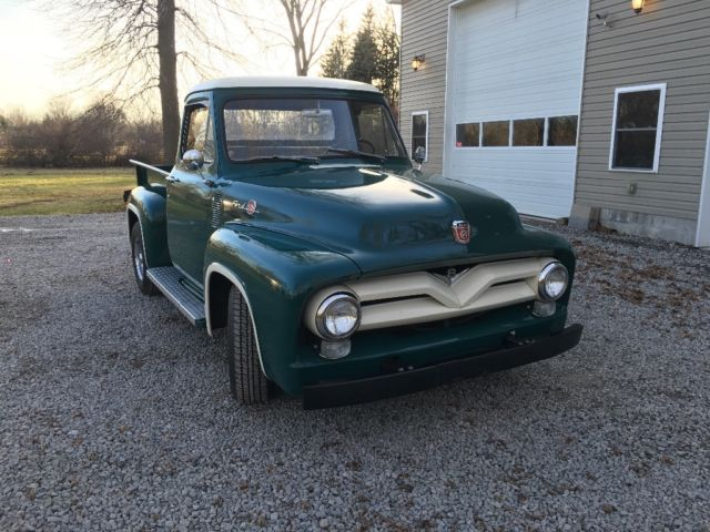 1955 Ford F100 Pickup Truck Pick Up 1954 1956 Hot Rod For Rhtopclassiccarsforsale: Location Of Frame Vin 1948 F 1 Ford Pickup At Gmaili.net