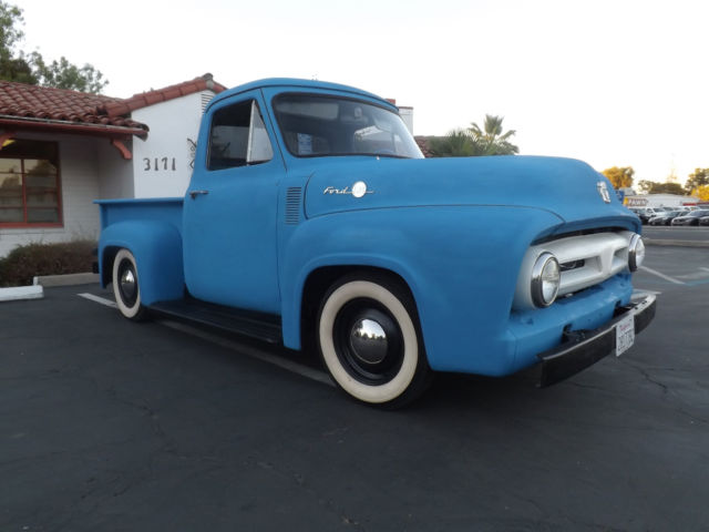 1955 ford f100 hot rat rod patina custom pick up truck chopper bobber hauler for sale photos