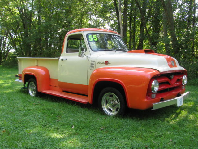 1955 Ford F250 Pick Up All Steel  Rust Free In Nice Driver Quality Condition For Sale  Photos