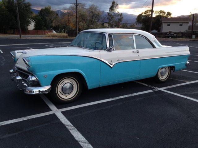1955 Ford Fairlane Victoria 2 Door Hardtop For Sale Photos Technical Specifications Description