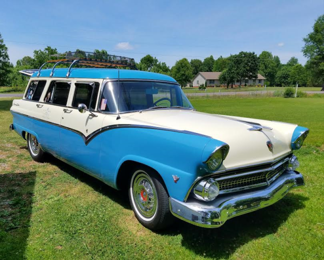 1955 Ford Country Sedan Station Wagon Stainless
