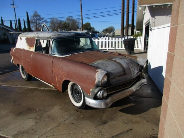 1955 Ford Fairlane RARE 2 door ''Courier'' sedan delivery wagon