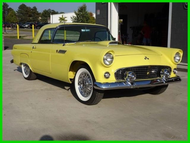 1955 Ford T Bird Restored Show And Investment Beautiful Classic Thunderbird