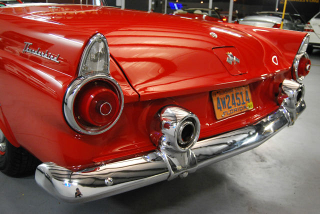 1955 Ford Thunderbird '55 numbers-matching, frame-off restored, stunning