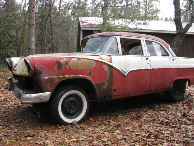 1955 Ford Town Sedan Project Car Or Hot Rod Also A 1956