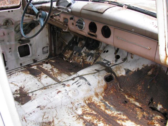 prevnext & 1955 FORD TOWN SEDAN PROJECT CAR OR HOT ROD also a 1956 Ford parts ... markmcfarlin.com