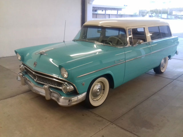 1955 ford two door ranch wagon restored nice look for 1955 ford 2 door wagon