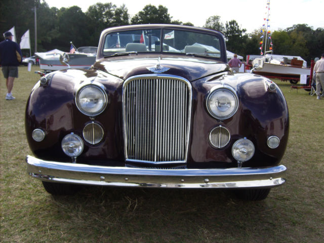 1955 Jaguar Mark VII M