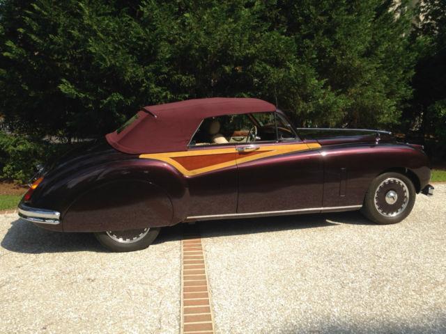1955 Jaguar Mark VII M Convertible Custom Modified ...