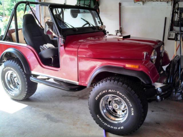 1955 Jeep CJ 1974 frame/ body - vin/ title/ reg is 1955