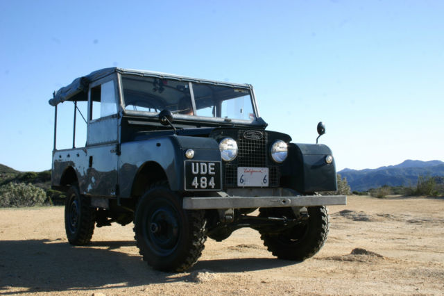 1955 Land Rover Defender Series One 86-inch