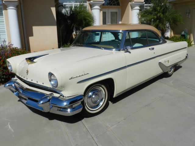 1955 Lincoln Capri 2 door hard top