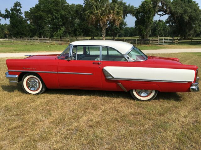 1955 Red Mercury Monterey Coupe with Red interior