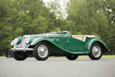 1955 MG T-Series Roadster