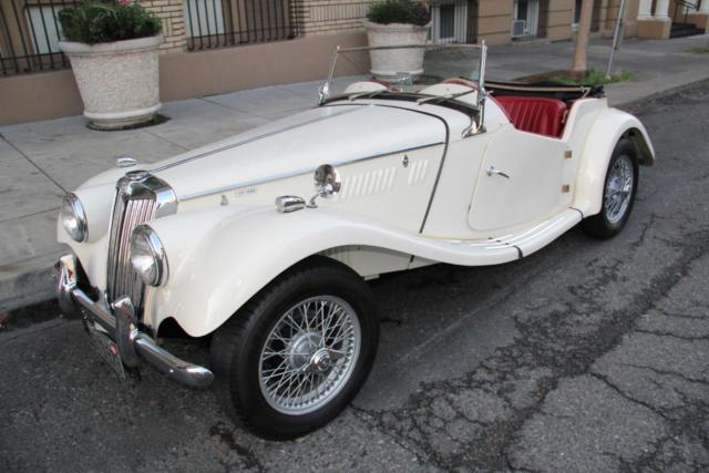 1955 MG T-Series TF 1500 Beautiful Restoration!