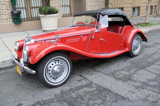 1955 MG T-Series TF 1500 Roadster - LHD - Restored! VIDEO.