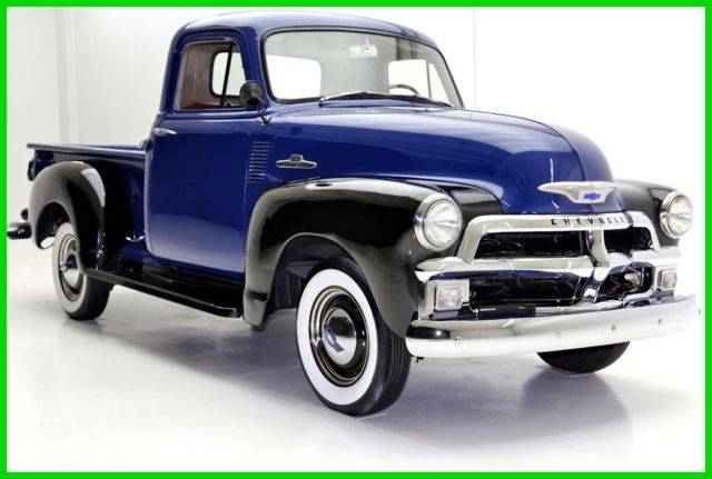 1955 Chevrolet 3100 New Chrome, Two Tone Paint