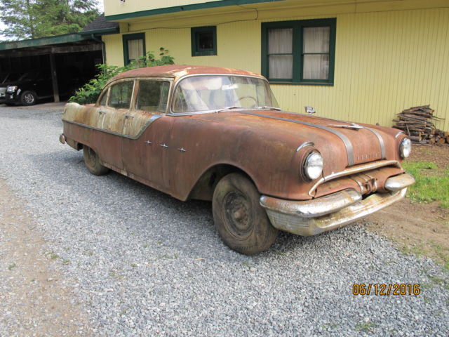 1955 pontiac starchief 4 door parts car for sale photos for 1955 pontiac chieftain 4 door