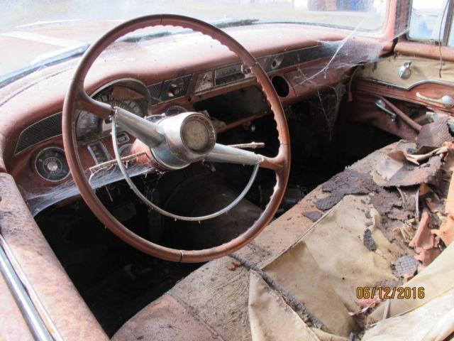 1955 pontiac starchief 4 door parts car for sale: photos