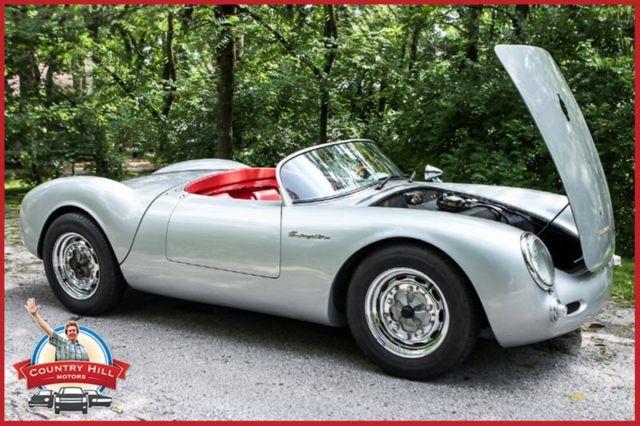 1955 porsche 550 beck spyder james dean 1600cc vw