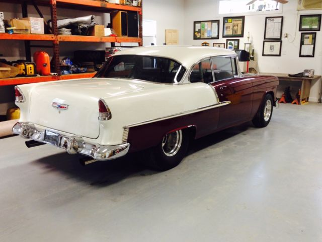 1955 pro street chevy bel air for sale photos technical specifications description. Black Bedroom Furniture Sets. Home Design Ideas