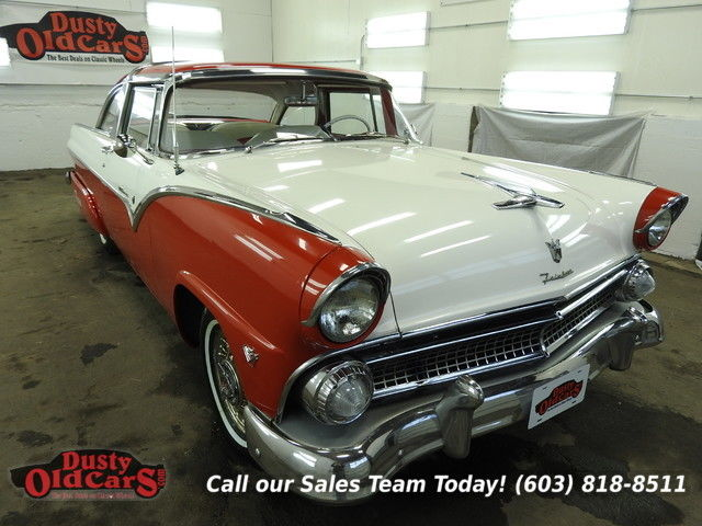 1955 Ford Crown Victoria Runs Drives Body Inter Excel 272V8 3spd auto