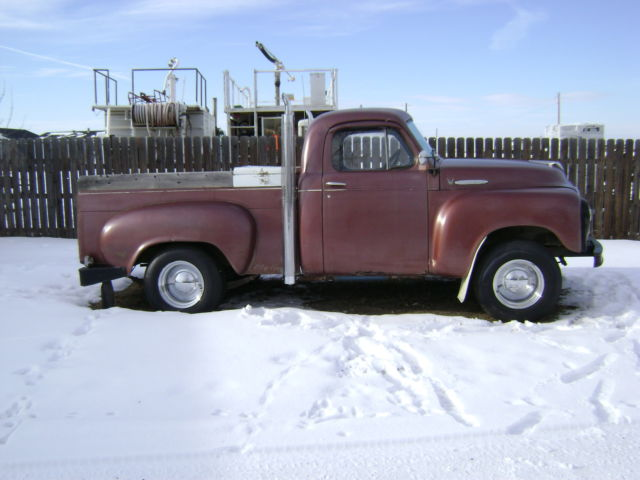 1955 Studebaker 1/2 ton short box
