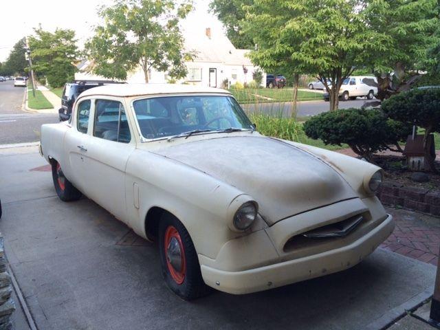 1955 Studebaker Champion 64K Miles Project Car 2 Door